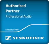 Authorised Sennheiser Partner for Professional Audio